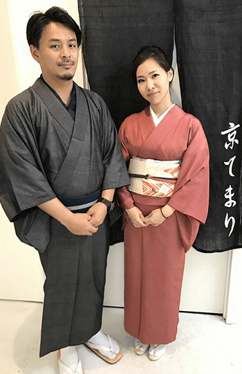 """""""Shoken silk kimono"""" one day rental plan"""